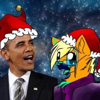 Guess wat - Merry Christmas 2013 by HesperCambrie