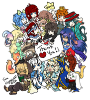 2014 Thank You Gift by NightWind87