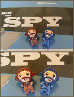 Chibi-Charms: TF2 Spy by MandyPandaa