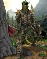 Argonian Warrior by canius