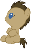 Baby Doctor Whooves by Beavernator