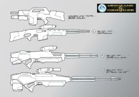 Trooper Gun Concepts by HK-887