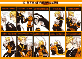10 Ways of Touching Meme by ZombieDaisuke