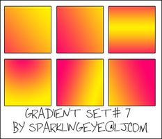 Gradient Set 07 by sparkling-eye