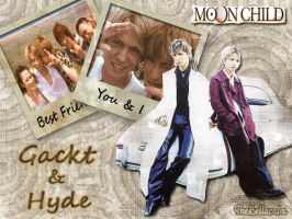 Gackt and Hyde Moon Child by Bellacrix