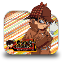 Case Closed Folder Icon by Omegas82128