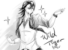 wild tiger:3 by Bunnyhana