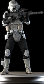 Scout Trooper by Yare-Yare-Dong