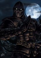 Noob Saibot detail by phrenan