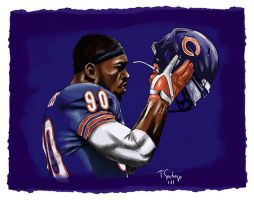 Julius Peppers by tsantiago