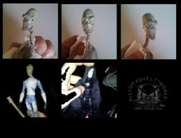 Custom Marvel Legends Scale Plagueis Figure by ayelid