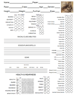 Character Sheet Preview by LordFenrir