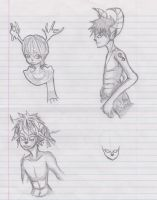 Faun sketches by kinimoto7