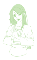 Mulan Sketch by Emily-Fay