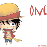 Luffy Chibi!~ xD by CrispyGray