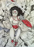 Wonder Woman by Martheus Wade by martheus