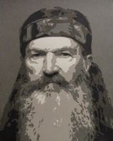 Duck Dynasty - Phil by Papergizmo
