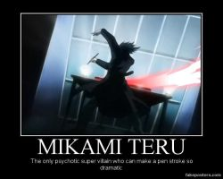 Mikami Demotivational by Suzumehane