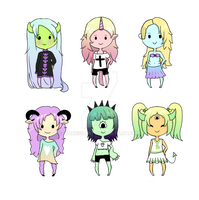 Pastel Adopts {Closed} by LyricLioness