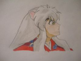 Inuyasha being so grouchy. by BlueRosePetalsQueen