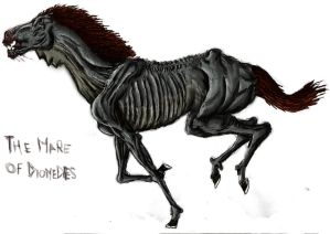 Diomedes horse-Coloured