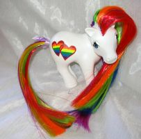 Gay Pride My Little Pony by mayanbutterfly