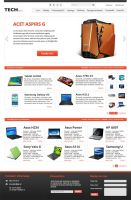 Tech News WebDesign by Rainbowdesign92
