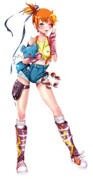 Misty  By Emmhamham-d4pdws4 by AliceTheAwesome1
