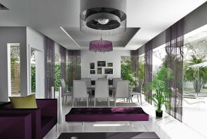 Townhouse the 1st interior by kasrawy