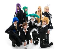 Secret Police - Cosplay Group by Karopu