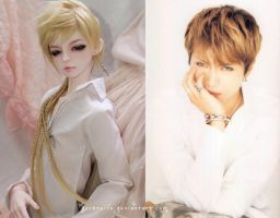 Suzaku: new face up - Gackt wanna be by darknaito
