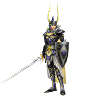 MMD Dissidia/012 - Warrior of Light by renzo-senpai