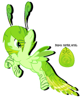 Nature peacock pony adopt #3 -CLOSED- by Overdriv3N