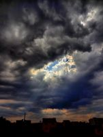 Sun Rays - Sky HDR 1 by IoannisCleary