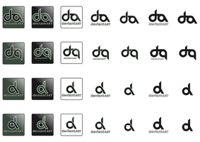 dA logo - Complete Set by Tamtan