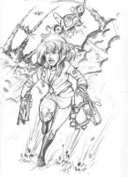 Saint 7 sketch submission by ARMORMAN