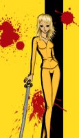 Beatrix Kiddo by 0-Akascha-0