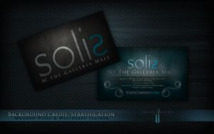 Solis Business Card by TrazekVayne