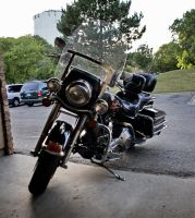 Harley Davidson FLHS stock 04 by pynipple