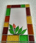 stained glass mirror by ritsasavvidou