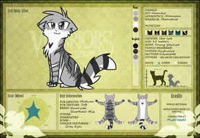 Moondust Ref Sheet :WVS: by MistDapple
