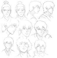 Zuko Sketches by halfempty15