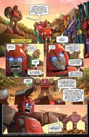 TF - Flash Forward preview page by KaijuSamurai