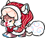 Christmas Puffball by Spacette