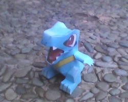totodile mini by turtwigcuTey