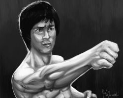 Bruce-lee by theartofmanopelli