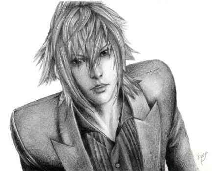 Noctis Lucis Caelum - drawing by Sami00