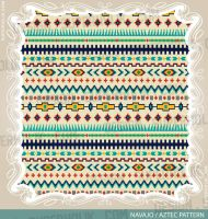 Aztec pattern Navajo by SUPERHOLIK