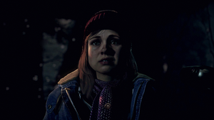 Until Dawn - Ashley Wallpaper by Drive637