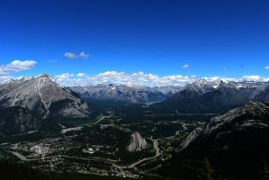 Banff mountains by Ccountryboy17